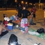 Valencia by night. Beach Volley et repas sur la plage. Le TOP !!!