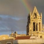 Cathédrale dans la ville de Reus