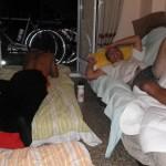 Nous dormons chez Yasmin, couchsurfeuse très généreuse et excellente cuisinière