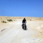 Nos premières traversés du No Man's Land se font sous une chaleur écrasante.