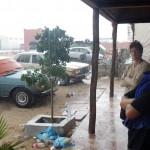 D'après les anciens, il n'a jamais autant plu depuis 40 ou 50 ans dans cette région.