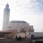 Avant de quitter la ville de Casablanca nous faisons un petit détour vers la mosquée Hassan II.