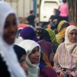 Agadir. Femmes marocaines.