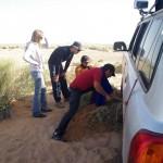 Partir dans le désert sans s'ensabler aurait été trop facile :)
