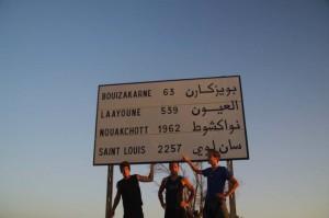 Entre le France et le Sénégal
