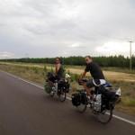 Entre Rio Grande do Sul et l'Uruguay, nous traversons une immense réserve naturelle. Les routes y sont longues, droites et monotones...