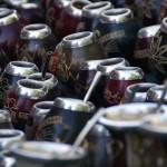 """... nous retrouvons les fameuses """"Bombilla"""", nécessaires à la dégustation du célèbre Maté (boisson très consommée en Amérique du Sud)..."""
