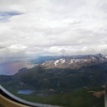 Le 24 décembre 2010, notre excitation est à son maximum. Nous volons en direction d'Ushuaia !!!! Depuis l'avion les paysages grandioses nous émerveillent déjà...