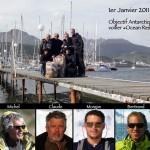 Le 1er janvier 2011 à Ushuaïa, l'équipe du « Kim » constituée de Daniel, Michel et Claude (le père de Morgan) est enfin réunie. En 1981, ils étaient partis explorer l'Antarctique durant 13 mois. 30 ans plus tard, Solidream se joint à eux pour revivre une partie de cette expédition hors du commun.