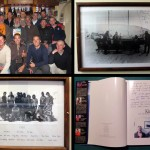 Nous rendons visite aux scientifiques de Vernadsky (base ukrainienne anciennement anglaise sous le nom de Faraday). En entrant, nous apercevons une photo des gars du Kim avec l'équipe de chercheurs de l'hiver 1981. Le chef de base captivé par l'histoire nous fait visiter les locaux et nous découvrons d'autres photos du Kim encadrées sur les murs. Nous sommes également conviés à prendre un verre avec l'ensemble de l'équipe et leur offrons un livre du Kim.