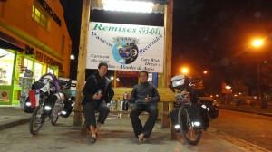A El Bolson avec notre Pisco