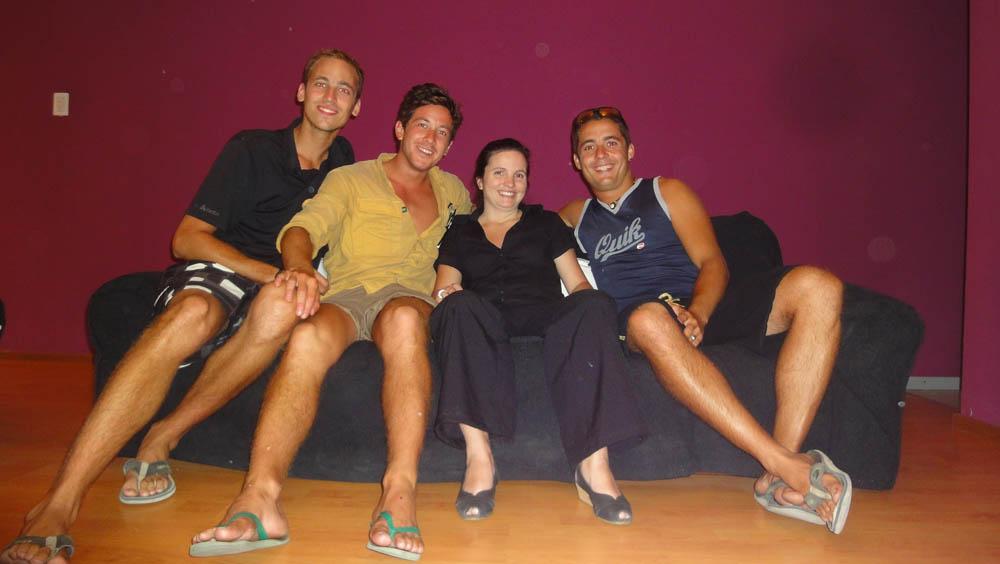 Buenos Aires, Argentina. Rocio, une amie de Siphay, nous invite dans son hôtel au centre de la capitale.