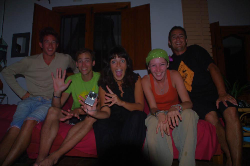 Ondara, España. Laurena nous accueil dans sa superbe villa au bord de la mer