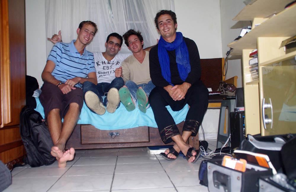 Santos, Brésil. Paulo, un ami de Siphay, nous réserve 5 jours inoubliables dans cette station balnéaire brésilienne.