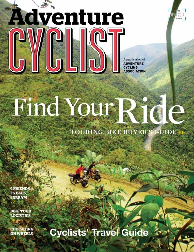 Adventure Cyclist - Avril 2014