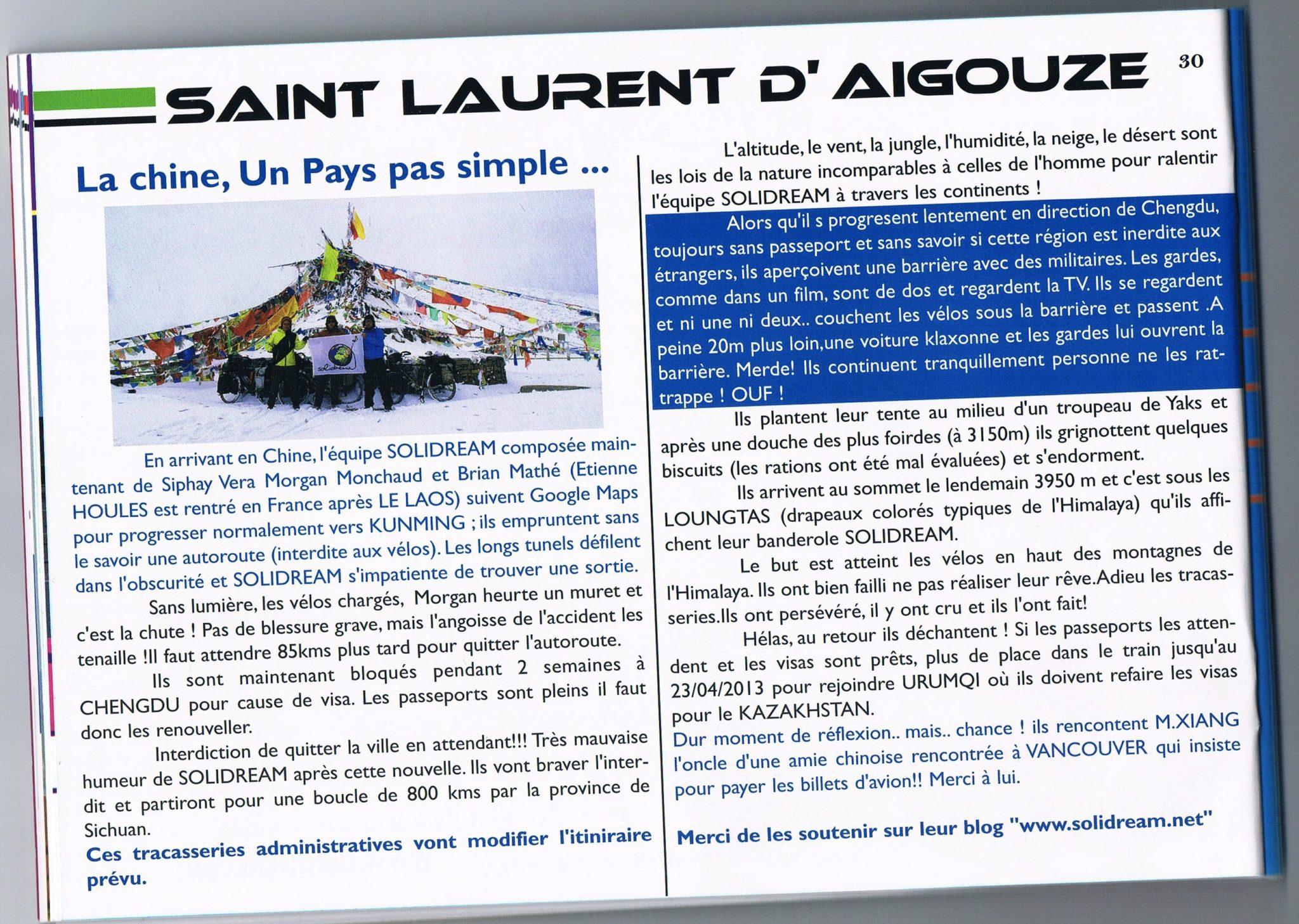Bulletin Municipal - La Grau du Roi - France - Avril 2013