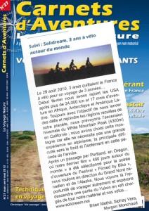 Carnets d'Aventures - Mars 2012