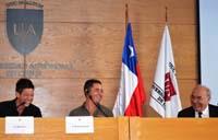 Siphay Vera, Morgan Monchaud et Roberto Fantuzzi