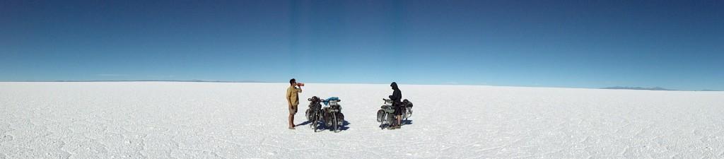 Salar de Uyuni à vélo