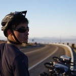 Brian prend ses marques sur les routes du Chili.