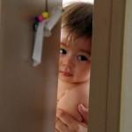 Antofagasta. Martin, le fils de Mirna et Mauricio, nous ouvre les portes de chez lui.