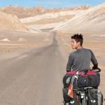 Siphay s'enthousiasme des paysages rencontrés dans l'Atacama.
