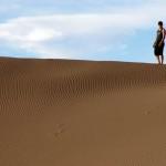 Les dunes du désert.