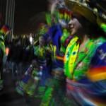 """La fête du """"Gran poder"""" à La Paz. Un défilé de toutes les couleurs dans les rues de la ville."""