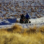 De plus, la neige rend la piste plus lisse et ainsi nous roulons dans de meilleures conditions.