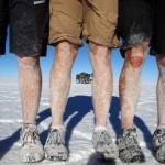 Salar de Uyuni. Le sel devient notre pire ennemi.