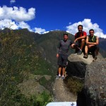 L'équipe Solidream en haut du Huayna Picchu !