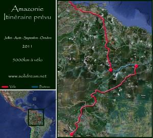 L'Amazonie à vélo