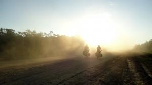 La poussière des routes d'Amazonie