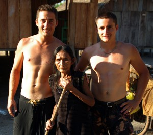 Meeting an indigenous tribe in the heart of Amazon