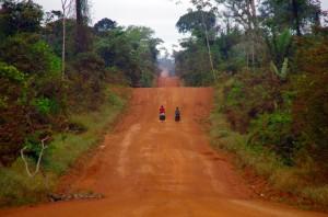 Traversée de l'Amazonie en vélo