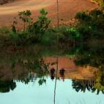 La route transamazonienne est praticable seulement en saison sèche, de Mai à Novembre. En saison humide, les pluies la rendent difficile à emprunter et le bateau lui est préférable.