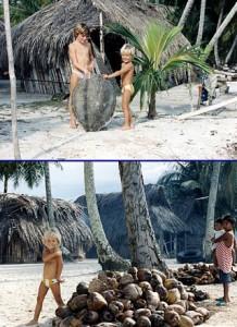 1989 : Aurdrey et Morgan chez les Kunas