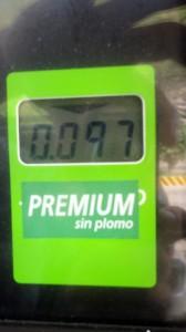 1l d'essence (10Bol = 1€)
