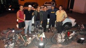 Rencontre avec Mi Vuelta en Bici...