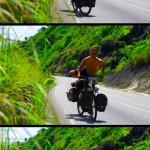 Monter sur son vélo est tout un art. A chacun sa technique pour chevaucher sa monture d'acier :)