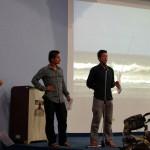 Nous donnons une conférence en espagnol à l'université UNET pour le club de cyclisme, pour expliquer le projet Solidream. A la fin de cette présentation, le président du club est convaincu et décide qu'il organisera un voyage dans l'esprit Solidream dans les semaines à venir. Un groupe de personnes supplémentaire inspirées, un sentiment de satisfaction nous envahit, nos objectifs sont atteints !