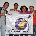 Les membres qui compose le collectif de Mi Vuelta en Bici Ruta Extrema. Nous sommes venus au Venezuela exprès pour les rencontrer, car leur groupe a été inspiré par le projet Solidream, à travers notre vidéo de présentation ! Ces gars-là nous feront passer de superbes moments en leur compagnie avant de partir pour la Colombie. Gracias amigos !