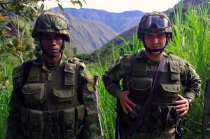 Les militaires colombiens