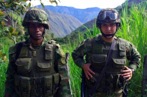 Forces spéciales colombiennes