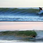 """Notre activité favorite au Costa Rica : surfer. Ce pays regorge de spots secrets et les conditions sont quasiment toujours bonnes. Ici, comme chaque jour à marée montante, Morgan et Brian perfectionnent leurs """"cut back"""" :)"""