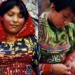 Les femmes Kunas portent des robes colorées et des Molas traditionnels. Elles se parent de bracelets multicolores appelés Winnis, ou Chaquiras en espagnol, sur toute la longueur de leurs bras et de leurs jambes. Selon leur croyance, ces bracelets les protègent des mauvais esprits. Photo extraite voyage autour du monde à la voile de Morgan et sa famille : http://tikaimowgli.blogspot.com/