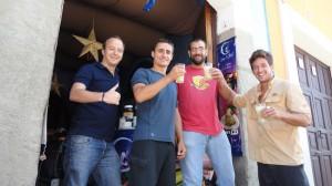 Rencontre autour d'un ricard avec Arnaud et Sam à Antigua Guatémala