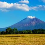 Un des nombreux volcans du Nicaragua. Certains d'entre eux sont en activité, une nouveauté pour nous.