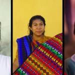De gauche à droite : Dora, qui nous a accueilli avec son mari au Honduras; une habitante typique d'Antigua Guatémala; un petit guatémaltèque chez qui nous avons logé proche de Antigua Guatémala