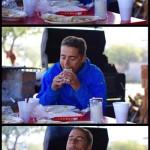 Le manger de tacos, en démo par Morgan ! Les succulents tacos, différents de par leur tortillas à base de maïs ou de blé, puis de leurs compositions. Pomme de terre, oeufs brouillés, haricots en purée... Des calories et des protéines telles que nous les aimons :)